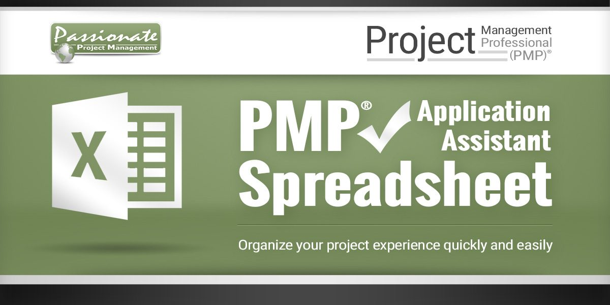 PMP Application Assistant Spreadsheet