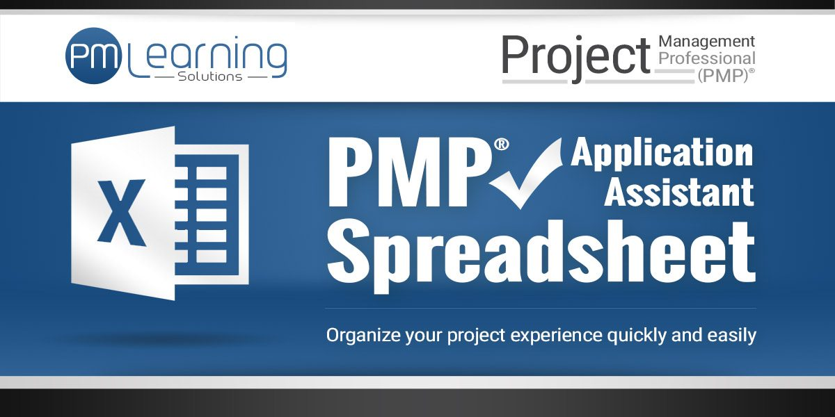 Pmp Application Assistant Spreadsheet Pmp Spreadsheet